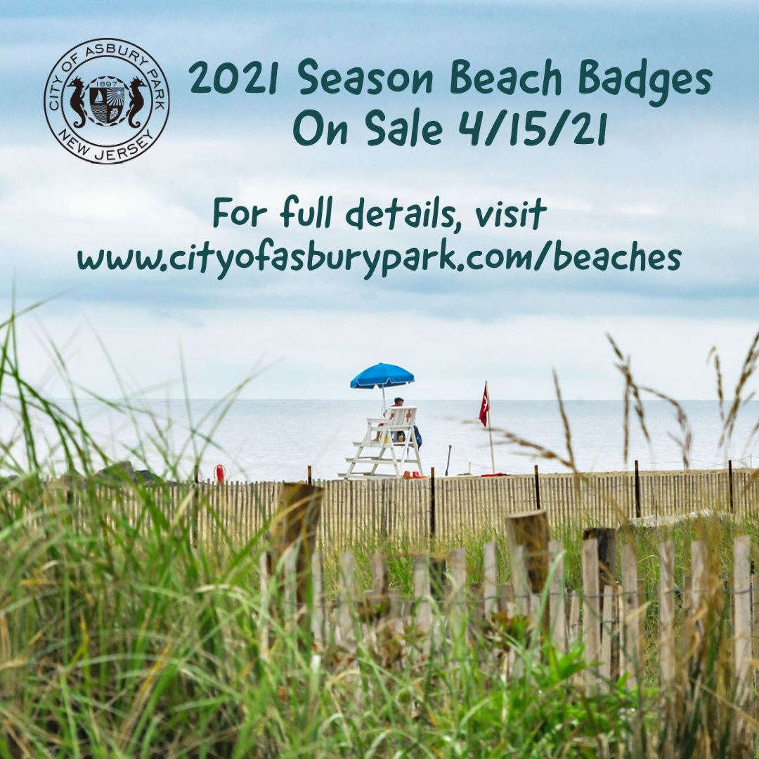Season Badges On Sale 4-15-21